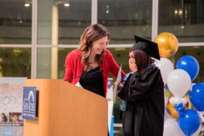COHS grad with Jill